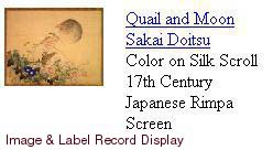 Image & Label Display